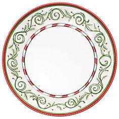OH MY GOSH i love this christmas china | O'Tannenbaum | SouthernLiving.com