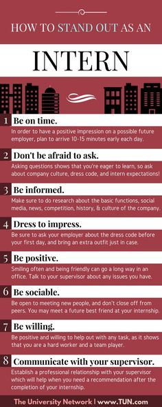Charming Here Are Eight Tips That Will Help You Complete Your Internship With  Professionalism And Leave Your Mark.