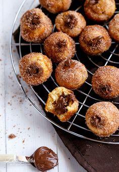 Æbleskiver med nutellafyld