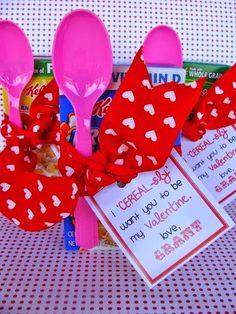 Classroom Valentine Printables.