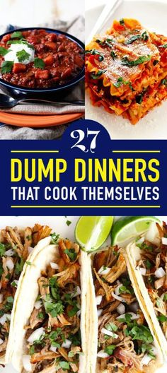 27 Dump Dinners That Basically Cook Themselves