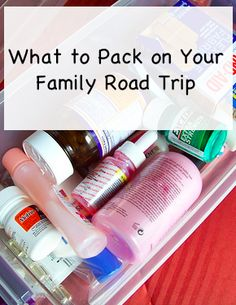 Don't get caught unprepared on your next family road trip with these simple tips.