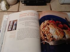 barefoot contessa chicken with goat cheese and basil page 114 in at home cookbook - Barefoot Contessa Goat Cheese Chicken