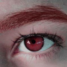 Pretty Eyes, Cool Eyes, Beautiful Eyes, Dark Fantasy, Red Rising, Aesthetic Eyes, Eye Art, Red Eyes, Character Aesthetic