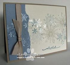 Up to Our Elbows... - Stampin' Up! Demonstrator Ann M. Clemmer & Stamper Dog Card Ideas