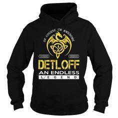 DETLOFF An Endless Legend (Dragon) - Last Name, Surname T-Shirt