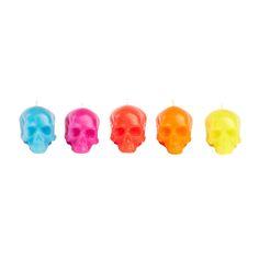 Bright Mini Skull Gift Set Of 5 by D.L. & Co.