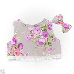 Chelsea Crop Top and Large Bow