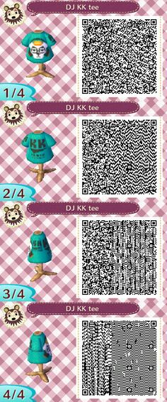 Spin some records while wearing this DJ K.K. T-shirt. #acnl #animalcrossing #newleaf