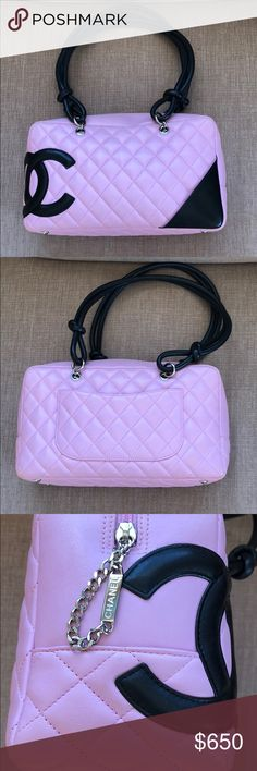 Chanel Bowler Bag Beautiful condition bag. Tiniest wear on bottom corners as pictured.  Dust bag is missing. CHANEL Bags