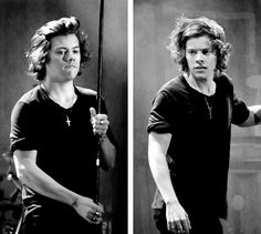 Harry styles shows beautiful long hair off in concert. Beautiful Long Hair, Beautiful People, Harry Styles 2014, New Hair Trends, I Love One Direction, 1d And 5sos, Hair Photo, Harry Edward Styles, My Idol