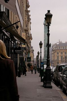 View on Place Vendôme from the 12 Rue de la Paix, Paris II