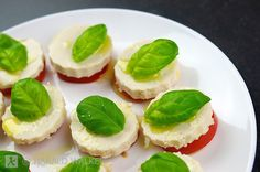 Vegan Caprese Salad with home made vegan cheese, similar to mozzarella. (Harald Walker)