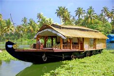"#Houseboat is a country craft better known as ""Kettuvallom"" in Malayalam language. The House boats are fully furnished to attract the #tourists with bedrooms with attached toilets, a spacious living room and well-built kitchen. And having safety equipments like, Life buoys, Life Jackets, Fire extinguishers etc. #keralaattractions #adventureholiday #beststay #trip #travel"