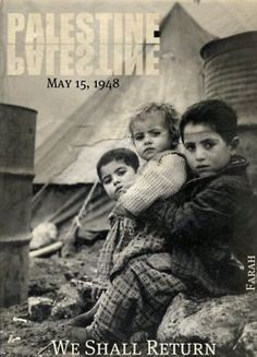 Palestine - everyone should have the right to come home