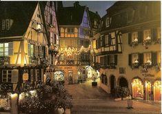Lumières de Noël en Alsace, à Colmar