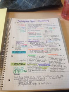 overmycoldcoffee:Trying out the Cornell Method for note taking, today. Liking it so far.