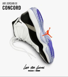 Explore and buy the Air Jordan 11 'Concord'. Stay a step ahead of the latest sneaker launches and drops. Air Jordan Retro, Air Jordan Xi, Jordan Shoes, Jordan Swag, Jordan Nike, Jordan Sneakers, Sneakers Nike, Air Jordan 11 Concord, Concord 11s