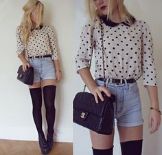 HIGH WAISTED (by Elena S) http://lookbook.nu/look/4154508-HIGH-WAISTED