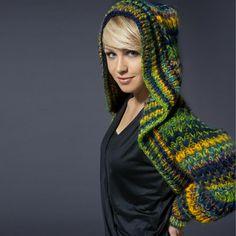 Modell 135/1, Ärmelschal aus Olympia von Lana Grossa « Lana Grossa « Strickmodelle weitere Marken « Stricken & Häkeln im Junghans-Wolle Creativ-Shop kaufen