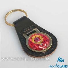 Rose Clan Crest Keyfob