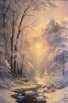 New nature winter scenery 33 Ideas Winter Landscape, Landscape Art, Landscape Paintings, Winter Pictures, Nature Pictures, Beautiful Pictures, Winter Painting, Winter Art, Snow Scenes
