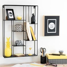 1000 ideas about wandregal metall on pinterest wall - Etagere murale maison du monde ...
