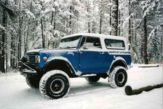 ▒ winter wonderful ▒ 70 international scout 800a ▒