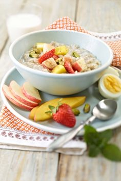 Rise 'n Shine Oatmeal | Breakfast Boost | Healthy Eating | PFK - Produce For Kids   #produceforkids