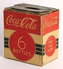 1930 carton for bottles
