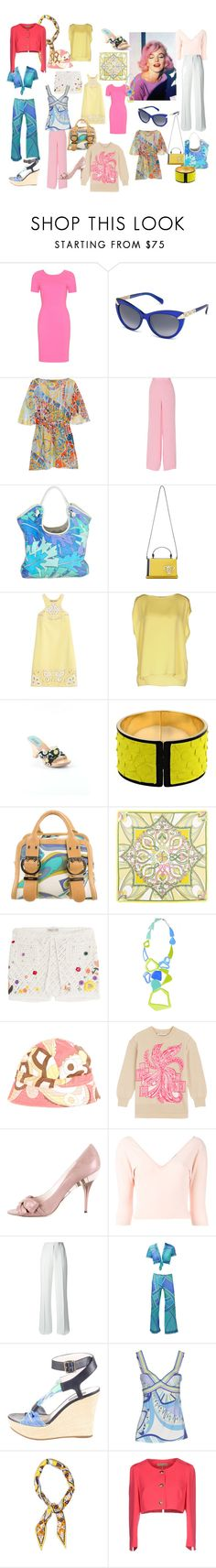 Marilyn Monroe by jenny-ragnwaldh on Polyvore featuring Emilio Pucci, women's clothing, women's fashion, women, female, woman, misses and juniors