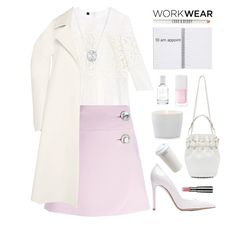 Appointment Time by rever-de-paris on Polyvore featuring Burberry, Rodarte, Marni, Gianvito Rossi, Alexander Wang, Lord & Berry, Chantecaille, Splendid, Christian Dior and Gingerlily