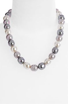 Majorica 14mm Baroque Pearl Necklace available at #Nordstrom