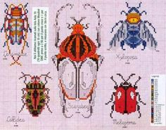 Tiny Cross Stitch, Cross Stitch Animals, Cross Stitch Designs, Cross Stitch Patterns, Cross Stitching, Cross Stitch Embroidery, Embroidery Patterns, Diy Broderie, Needlepoint Designs