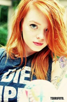 Scarlett redhead suicide girls