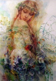 Lyben Pashkulski 1939 - Bulgarian painter - TuttArt@548 x 800 | 275.5 KB | www.tuttartpitturasculturap...