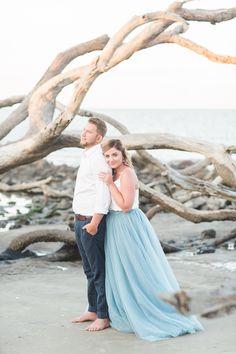 Jekyll Island Engagement // Jessica + Zachary - Coastal Bride