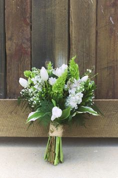 Very pretty white and green bouquet Photo: Jeffrey Lewis Bennett