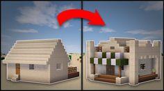 Minecraft: How To Remodel A Desert Village Butcher s Shop YouTube Minecraft Minecraft blueprints Minecraft designs