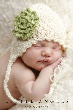 Baby Hats Crochet Patterns | Free Easy Crochet Patterns Baby Hats ...                                                                                                                                                     More