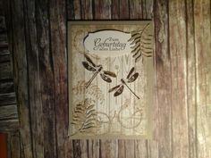 Geburtstagskarte für einen Mann mit Timeless Textures, Awesomely Artistic und Botanischer Garten