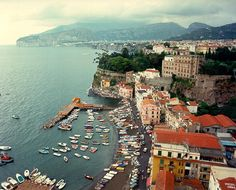 Sorrento, Italy is a wonderful place to visit in the Spring and Summer time! Great food, shopping and people! I always stay at Hotel Conca Park, it is in walking distance to everything Sorrento!