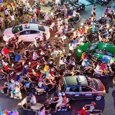 This is Vietnam traffic