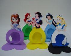 Porta Bombom Princesas Disney