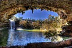 Hamilton Pool in Travis County, Texas