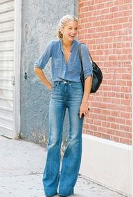 DENIM, high-waisted jeans, year round look|