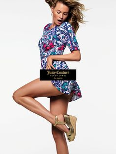 Behati Prinsloo stars in Juicy Couture's spring-summer 2016 campaign