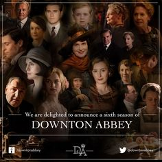 'Downton Abbey' Season 6 Confirmed! Click for more info!