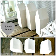 DIY DEKO HAUS  #DIY #Deko #Haus #Holz #interior #house #Maison #white  emiliaunddiedetektive.blogspot.de
