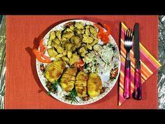 Südafrikanisches PUTENCURRY mit Fächerkartoffeln und Fenchel-Radieschen-Salat